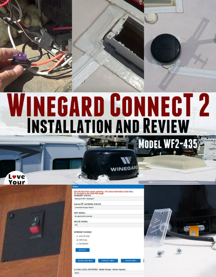 Installation and setup and review of the Wingard ConnecT version 2.0 Wifi Extender with 4G LTE by the Love Your RV blog - https://www.loveyourrv.com