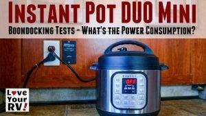 Instant Pot DUO Mini Feature Photo
