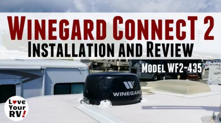 Winegard ConnecT 2.0 Installation and Review (WiFi Extender + 4G LTE)
