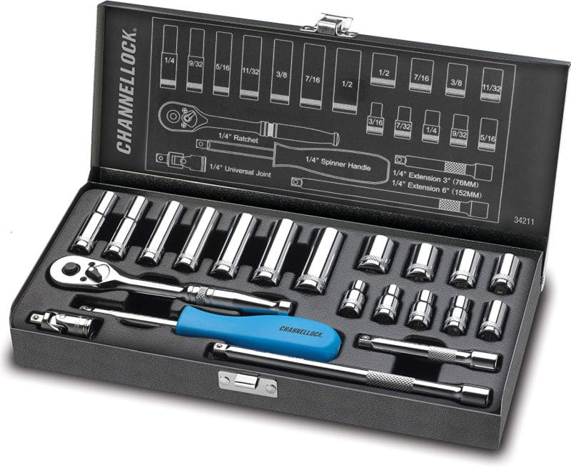 Channel Lock socket set