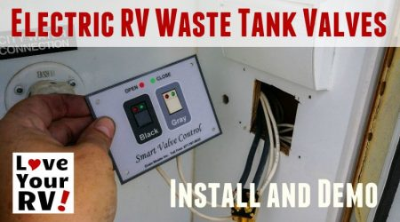 Installing Drain Master Electric RV Waste Tank Valves