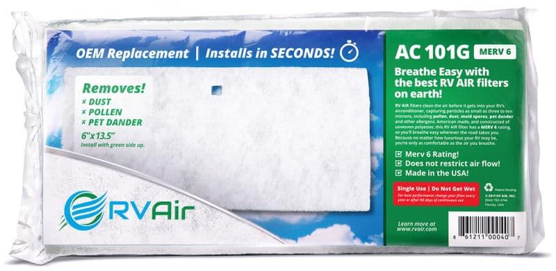 RV Air filter