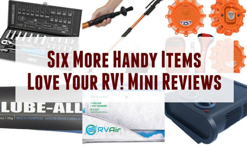 Six More Handy Items for the RV Feature Photo