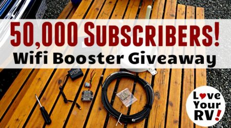50,000 YouTube Subscribers! Special Giveaway (Used Winegard Wifi Booster)