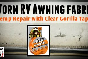 Temp Repair to Disintegrating RV Awning Feature Photo