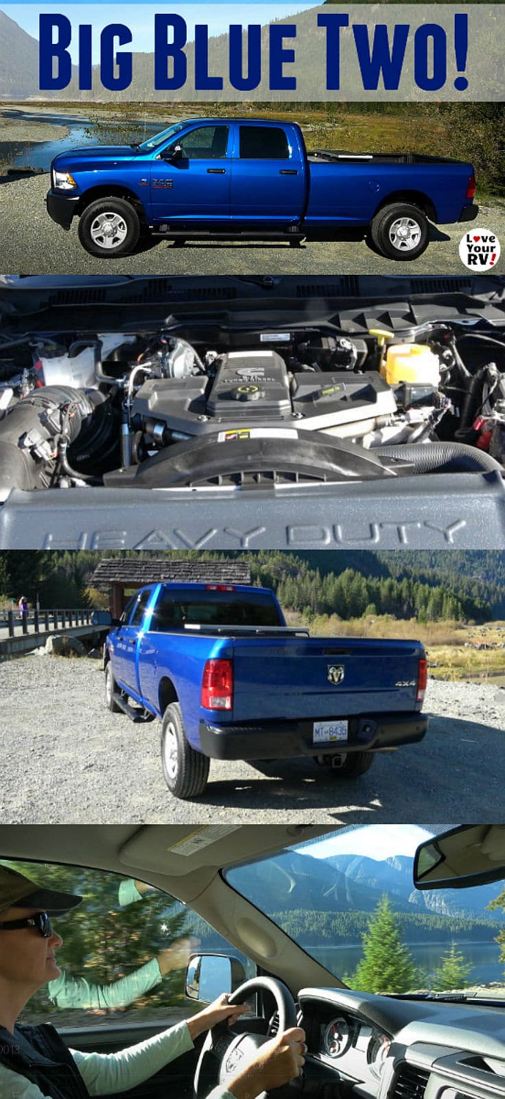 Tow Hitch Installation Near Me >> Introducing Our New Ram 3500 Truck - Big Blue II