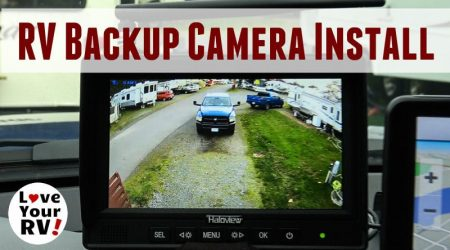 Installing a Haloview Wireless RV Backup Camera – Model MC7108