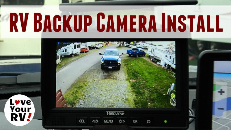 Haloview Backup Camera Install Feature Photo