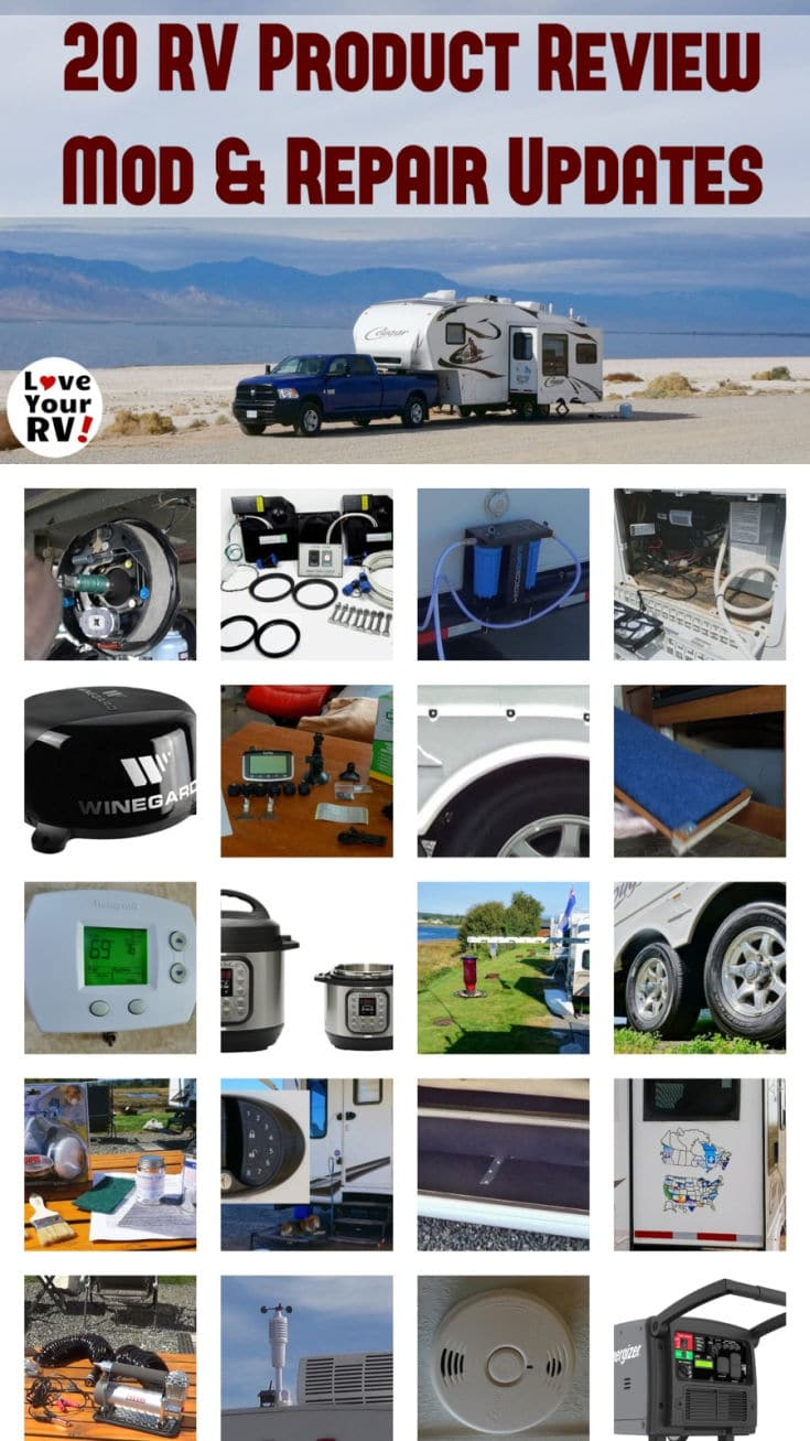 20 More RV Product Review Mod and Repair Updates by the Love Your RV blog