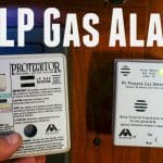 RV LP Gas Alarm Replacement Feature Photo
