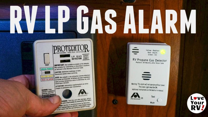 Replacing Expired Rv Lp Gas Detector Atwood Protechtor