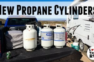 New LP Gas Cylinders Feature Photo