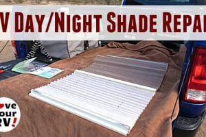 RV Day Night Shades Restring Repair Feature Photo