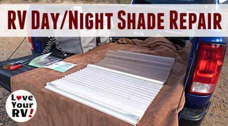 Repairing Broken String on RV Day/Night Shade