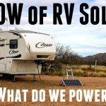 500 Watts of Solar Feature Photo