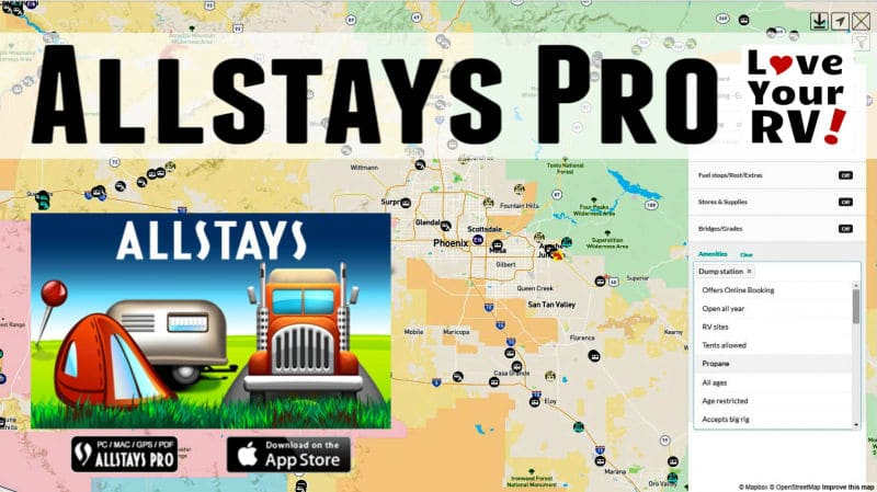 Allstays Pro Feature Photos