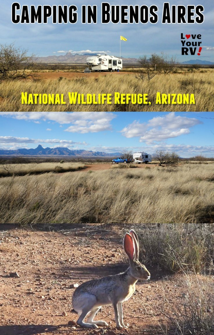 RV Camping in the Buenos Aires National Wildlife Refuge in Southern Arizona - https://www.loveyourrv.com/camping-in-the-buenos-aires-wildlife-refuge-in-arizona/