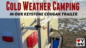 Cold Weather Camping in Our Keystone Cougar Feature Photo