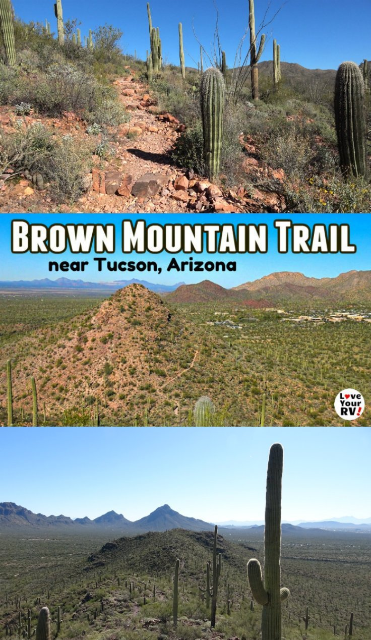 Hiking the Brown Mountain Trail near Tucson AZ and a look at the Gilbert Ray campground in Tucson Mountain County Park