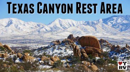 Beautiful Texas Canyon Rest Area, Arizona