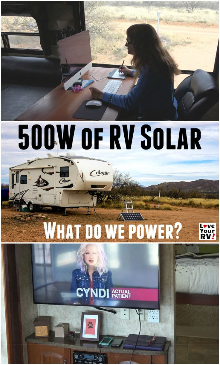 What Do We Power With 500 Watts Of Rv Solar