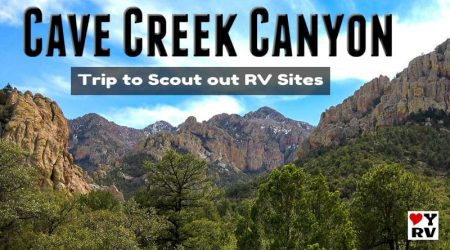 Checking out Cave Creek Canyon in Southeastern Arizona