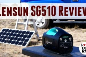 Lensun SG510 Solar Generator Review Feature Photo