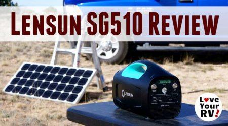 Lensun SG510 Solar Generator Review