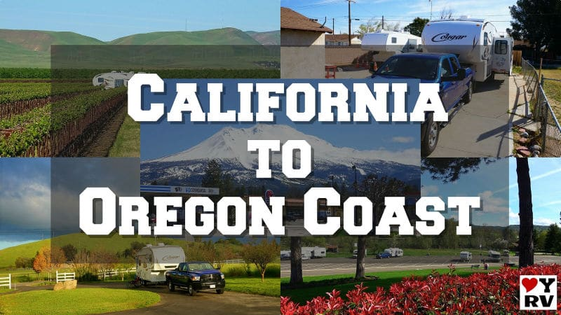 California to the Oregon Coast 2019 Feature Photo