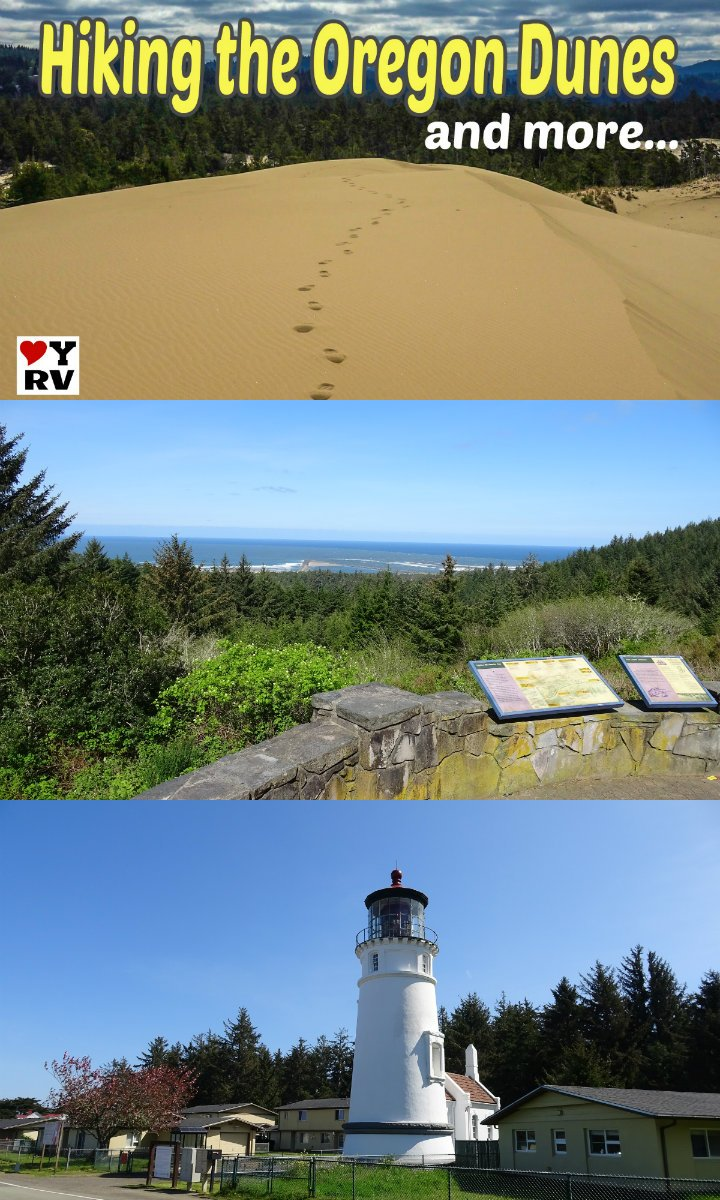 Hiking the Oregon Dunes & Sightseeing Around Reedsport OR - Love Your RV https://www.loveyourrv.com/hiking-the-oregon-dunes-sightseeing-around-reedsport-or/