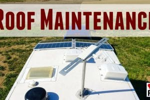 Old RV Roof Inspection and Maintenance to Prevent Leaks Feature Photo