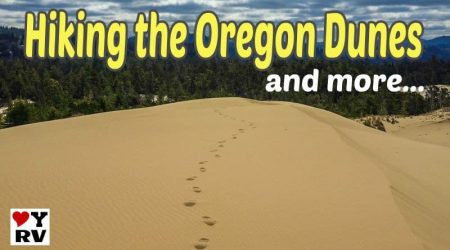 Hiking the Oregon Dunes & Sightseeing Around Reedsport OR