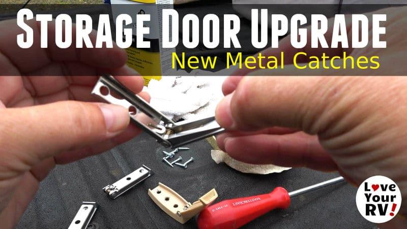 Storage Bay Catch Upgrade Feature Photo