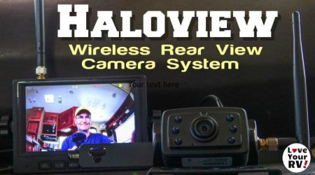 Wireless RV Rear View Camera Review (Haloview Model MC5111)