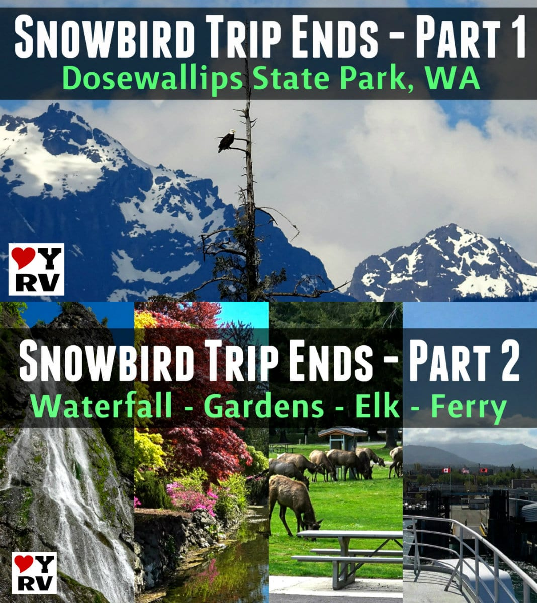 Last two videos from our 2018-19 RV snowbird trip adventures from Washington State - https://www.loveyourrv.com