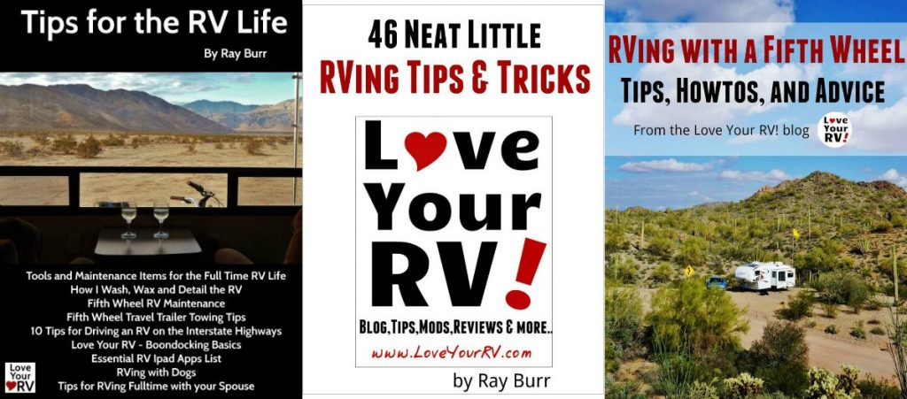 Three Love Your RV eBooks