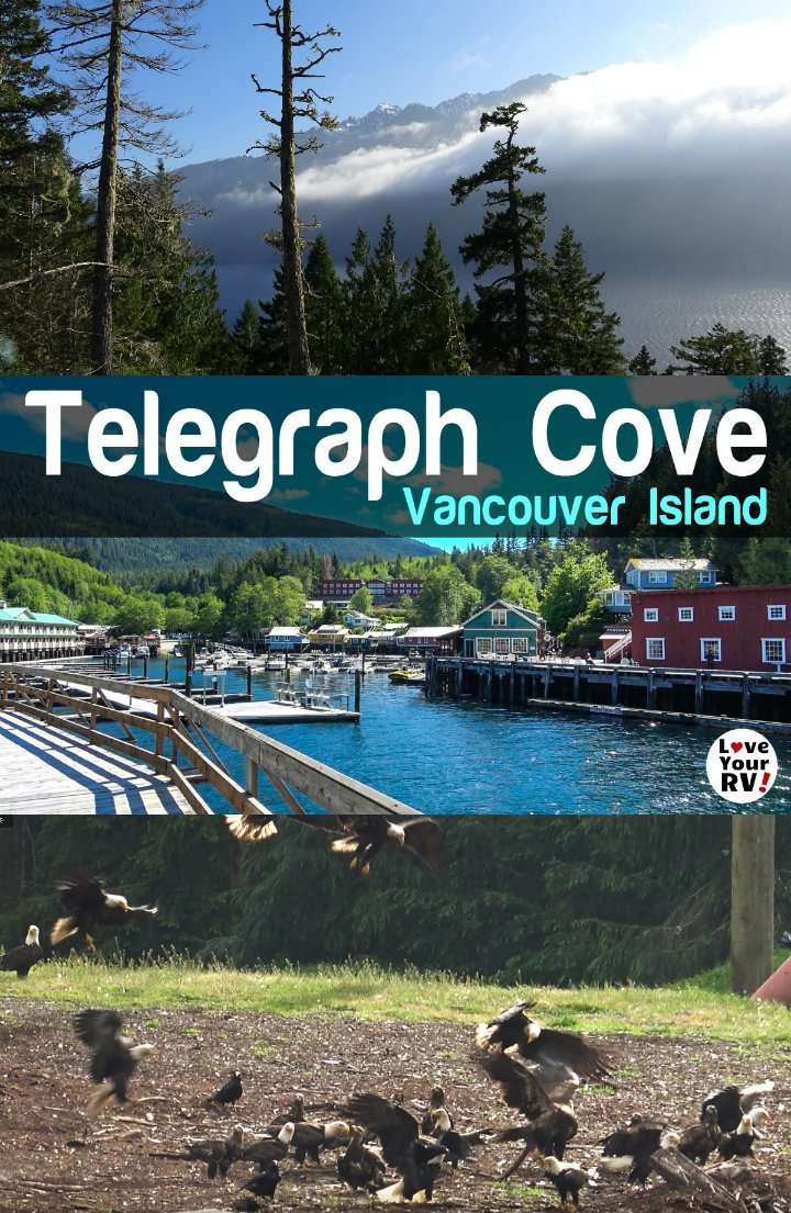 Video footage from our day trip up Vancouver Island BC to cute little Telegraph Cove