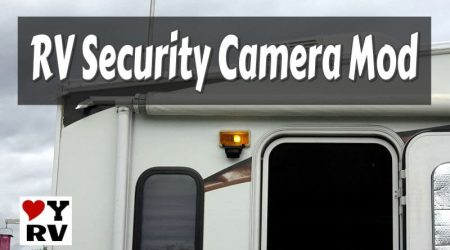 DIY RV Security Camera using Haloview Wireless Backup Camera