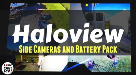 Haloview Side Mount RV Backup Cameras and Accessories