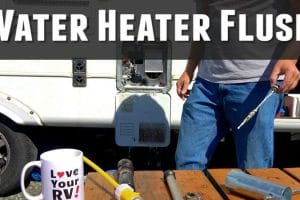 Water Heater Flush Feature Photo