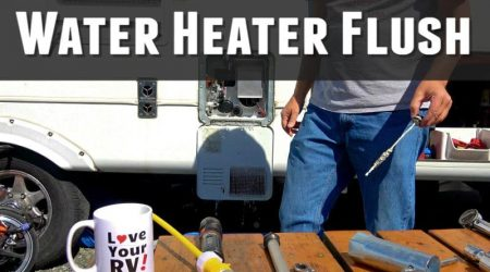 Neglected RV Water Heater Flush + Clearsource Filter Update
