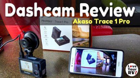 Akaso Trace 1 Pro Dash Cam Review