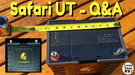 Lion Energy Safari UT Lithium Battery Q & A