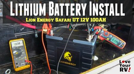 Upgrading Lead Acid RV Batteries to Lithium – Lion Energy Safari UT