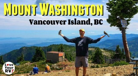 Gorgeous Mt. Washington + Comox Harbour (Vancouver Island Day Trip)