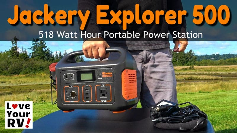 Reviewing the Jackery Explorer 500 -Portable Power Station Feature Photo