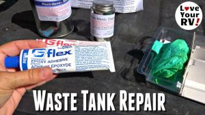 Cracked Waste Tank Repair Feature Photo