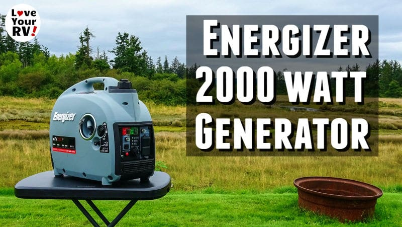 Energizer EZV2000 generator review Feature Photo