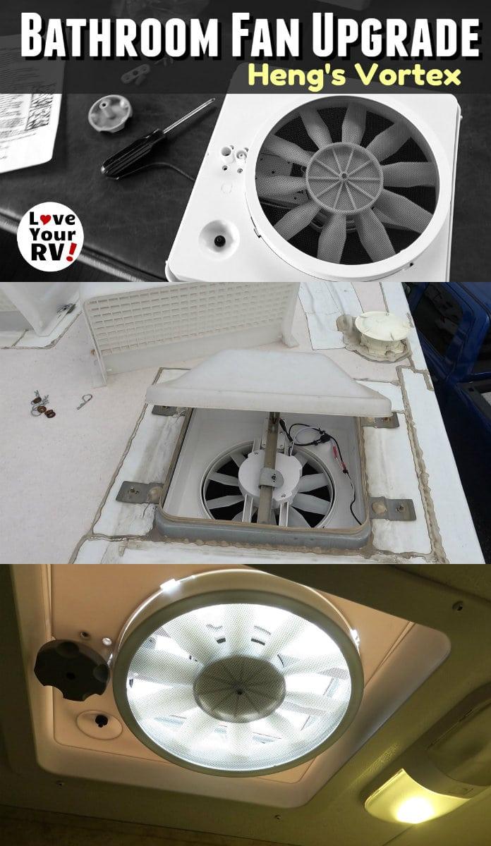 RV Bathroom Fan Upgrade to the Hengs Vortex 1