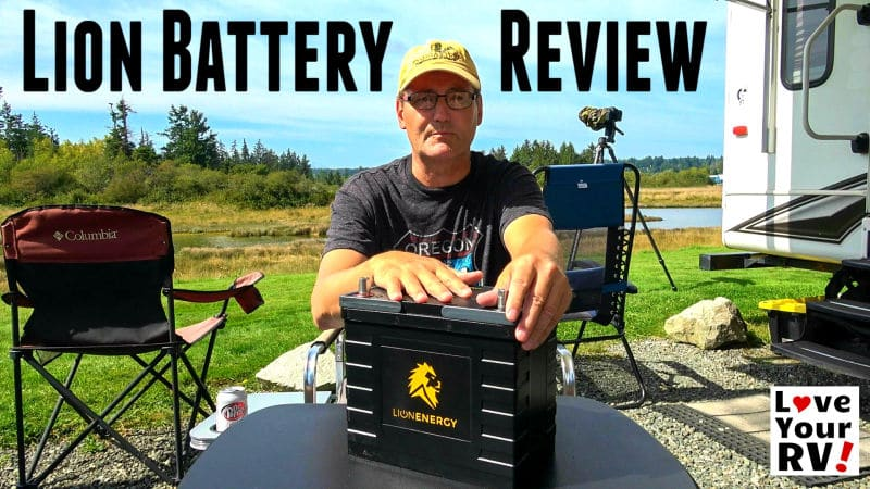 Lithium RV Battery Review - Lion Energy Safari UT Feature Photo